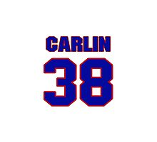 National baseball player Luke Carlin jersey 38 Photographic Print
