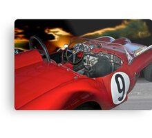 1958 Ferrari 250GT Testa Rossa II 'Driver's Compartment' Metal Print