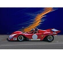1974 Ferrari 312P V12 Photographic Print