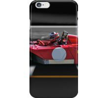 1974 Ferrari 312P V12 'Finish Line' iPhone Case/Skin