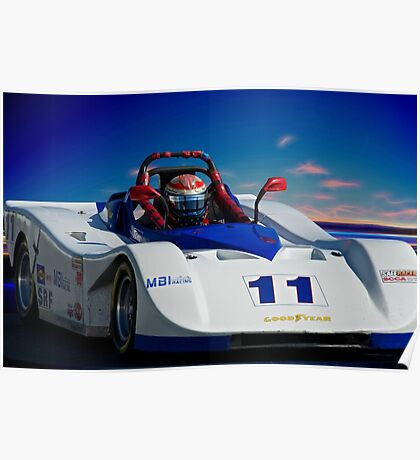SRF Race Car 'Vintage Can Am' I Poster