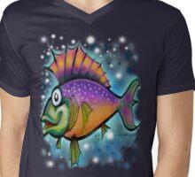 Fishy Mens V-Neck T-Shirt