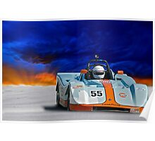 SRF Race Car 'Vintage Can Am' II Poster