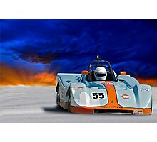 SRF Race Car 'Vintage Can Am' II Photographic Print