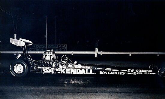 DON GARLITS SACRAMENTO RACEWAY 1985 by SMOKEYDOGSOCKS
