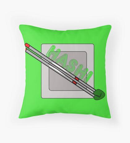 HASHI CHOPSTICKS Throw Pillow