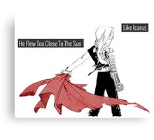 Edward Elric-Icarus Canvas Print
