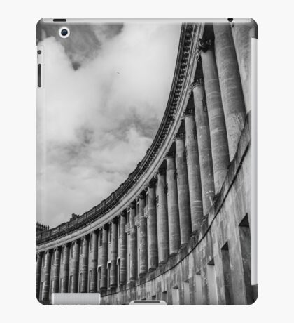 The Royal Crescent of Bath #2 iPad Case/Skin