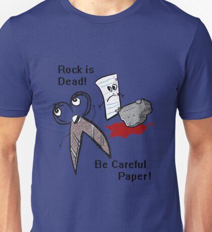 Rock is Dead!!!! Unisex T-Shirt