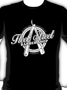 Fleet Street Barber Shop T-Shirt