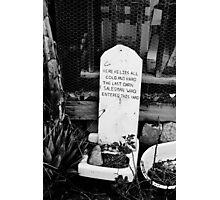 Dead Salesman Photographic Print
