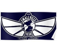 Smallville Flight School Poster
