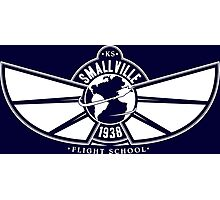 Smallville Flight School Photographic Print