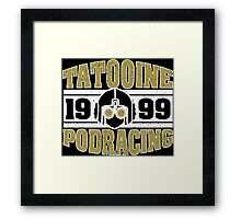 Tatooine Podracing Framed Print