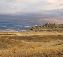 Prairie Butte Storm by nituathaill