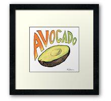 Avocado Framed Print