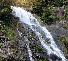 Morning Waterfall by WilliDude