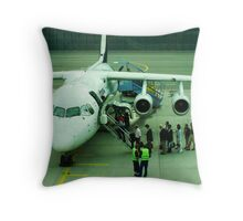 Bon Voyage, My Love! Throw Pillow