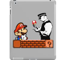 Super Mario In Trouble iPad Case/Skin