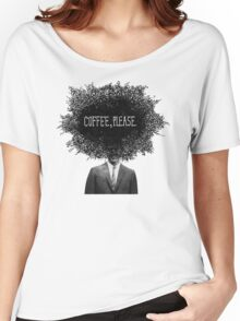 Coffee, Please Women's Relaxed Fit T-Shirt