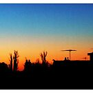 Sunset at Westgarth by blackberrymoose