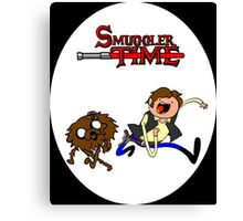 Smuggler Time Canvas Print