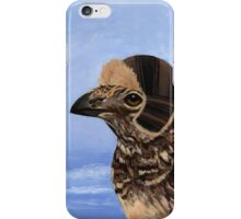 A Fashionable Hen iPhone Case/Skin