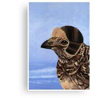 A Fashionable Hen Canvas Print