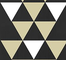 Triangle Background by Emily Lanier
