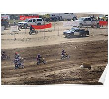 Loretta Lynn's SW Area Qualifier Competitive Edge-Hesperia,CA Mini's Hole Shot View, (426 Views as of May 9, 2011) Poster