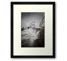 Back of the Baths Framed Print