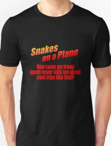 Snakes On A Travel Agent T-Shirt