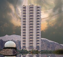 Luxury Pakistani Seven Star Hotel Serena on Titan, the moon of Saturn by Kenny Irwin