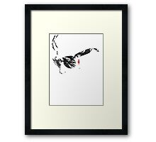 The place beyond the pines sunglass face Framed Print