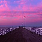 shorncliffe Jetty Sunset by Ben Messina