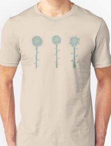 three green flowers T-Shirt