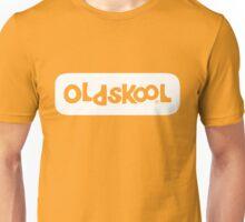 Oldskool logo - white Unisex T-Shirt