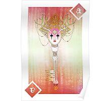 Anthrocemorphia - Ace of Diamonds  Poster