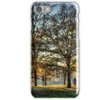 Romance in Greenwich Park iPhone Case/Skin