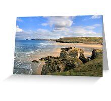Perran Beach Greeting Card