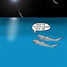 Shark Cartoon by David Stuart