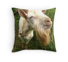 Rope Goat Throw Pillow