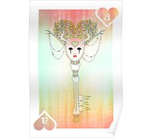 Anthrocemorphia - Ace of Hearts Poster