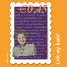 Dutch stamp by Ronald Wigman