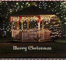 Christmas Gazebo by James Brotherton
