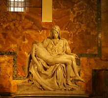 The Pieta` By Michelangelo by Mary Lake