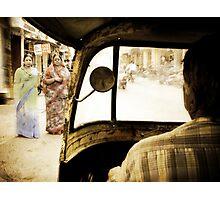 Udaipur Rickshaw Photographic Print