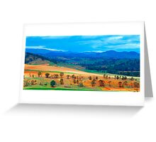 The Masters Paintbrush - Southern NSW, Australia Greeting Card
