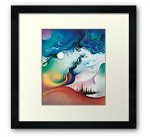 """The Wind"" from the series: ""Elements of the Earth"" Framed Print"