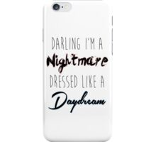 Darling I'm A Nightmare iPhone Case/Skin